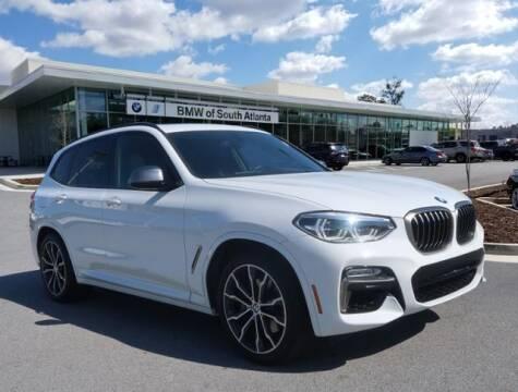 2018 BMW X3 for sale at Carol Benner @ BMW of South Atlanta in Union City GA