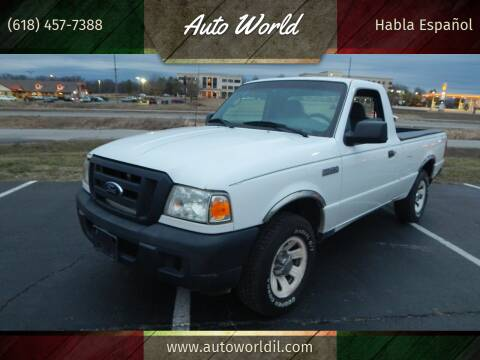 2007 Ford Ranger for sale at Auto World in Carbondale IL