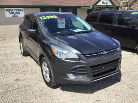 2015 Ford Escape for sale at Mobile-tronics Auto Sales in Avoca MI