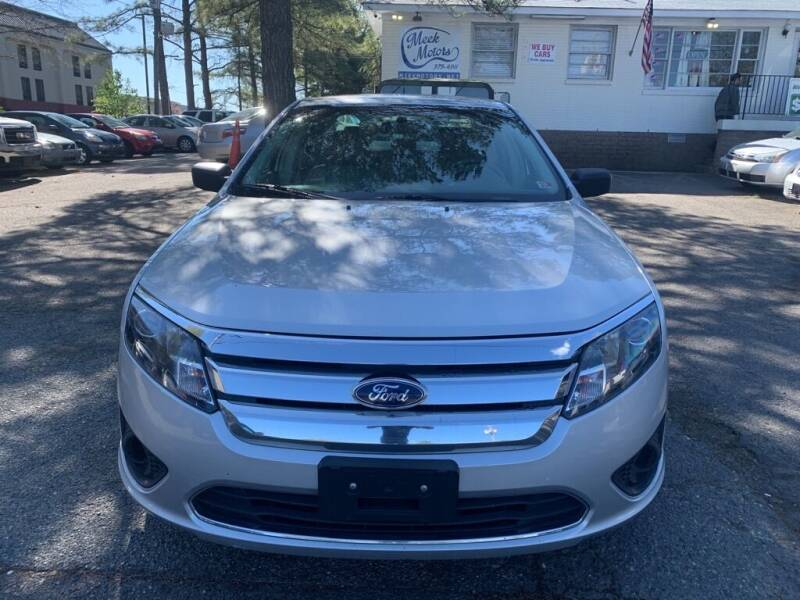 2011 Ford Fusion for sale at MEEK MOTORS in Richmond VA