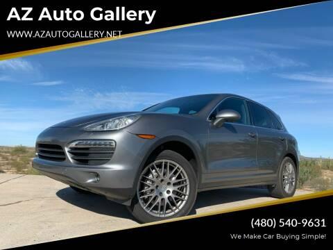 2012 Porsche Cayenne for sale at AZ Auto Gallery in Mesa AZ