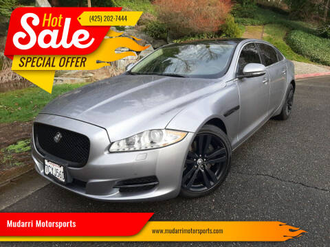 2011 Jaguar XJL for sale at Mudarri Motorsports in Kirkland WA