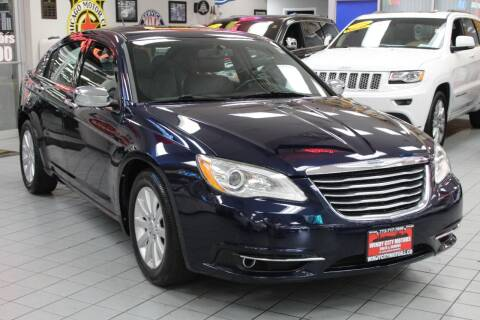 2013 Chrysler 200 for sale at Windy City Motors in Chicago IL