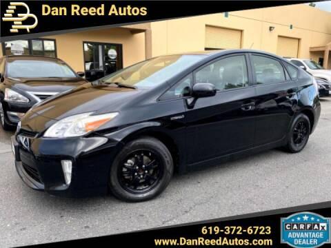 2015 Toyota Prius for sale at Dan Reed Autos in Escondido CA