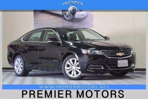 2017 Chevrolet Impala for sale at Premier Motors in Hayward CA