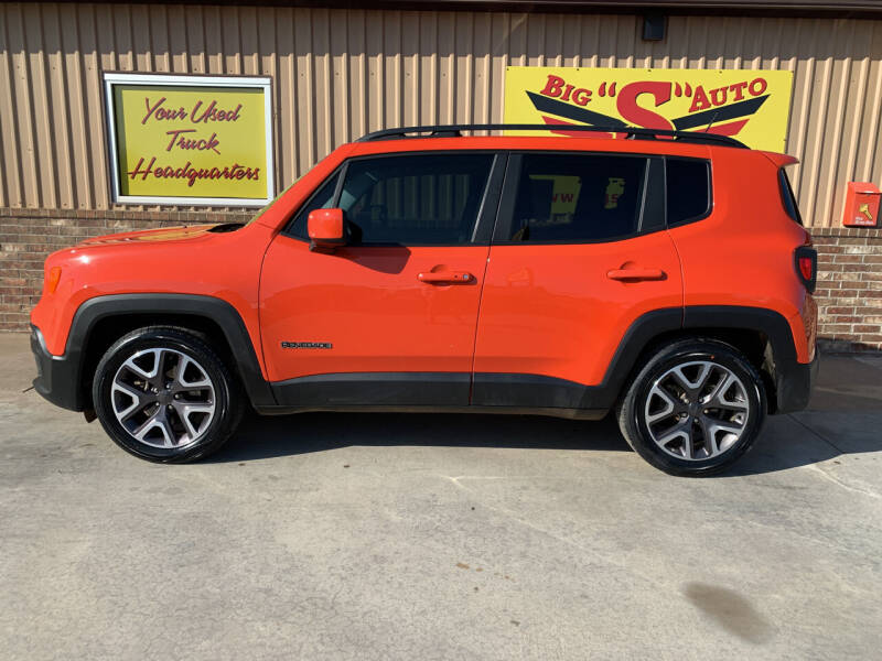 2016 Jeep Renegade for sale at BIG 'S' AUTO & TRACTOR SALES in Blanchard OK