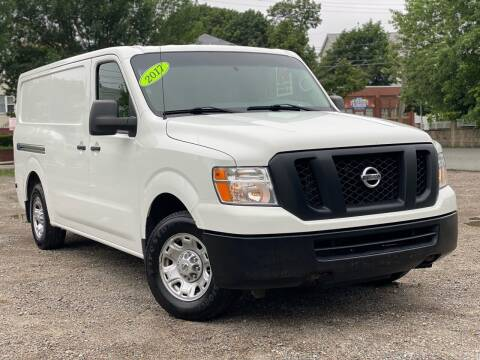 2017 Nissan NV Cargo for sale at Best Cars Auto Sales in Everett MA