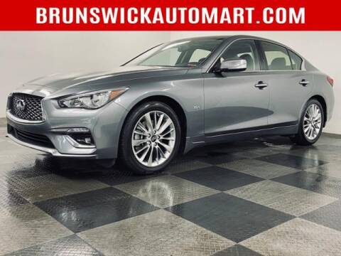 2019 Infiniti Q50 for sale at Brunswick Auto Mart in Brunswick OH