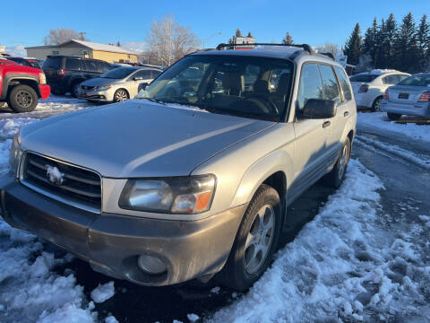 2003 Subaru Forester for sale at BELOW BOOK AUTO SALES in Idaho Falls ID