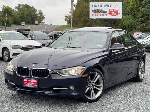 2014 BMW 3 Series for sale at A&M Auto Sales in Edgewood MD