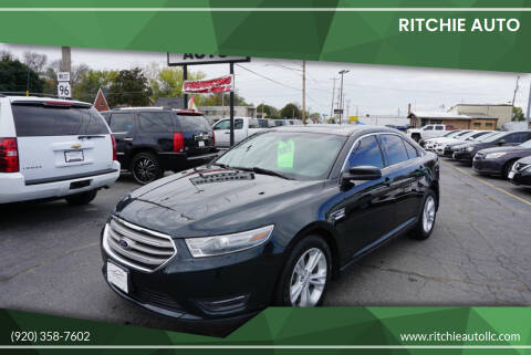 2014 Ford Taurus for sale at Ritchie Auto in Appleton WI