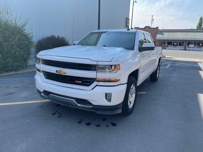 2017 Chevrolet Silverado 1500 for sale at DAVENPORT MOTOR COMPANY in Davenport WA