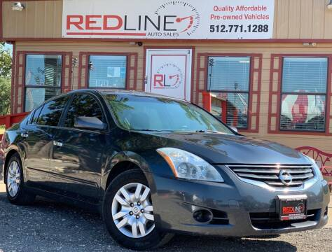 2011 Nissan Altima for sale at REDLINE AUTO SALES LLC in Cedar Creek TX