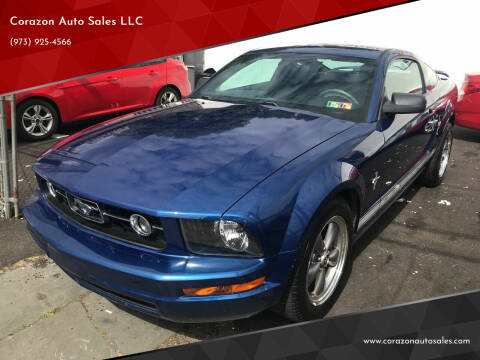 2006 Ford Mustang for sale at Corazon Auto Sales LLC in Paterson NJ