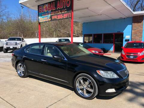 2007 Lexus LS 460 for sale at Global Auto Sales and Service in Nashville TN