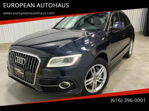 2013 Audi Q5 for sale at EUROPEAN AUTOHAUS in Holland MI