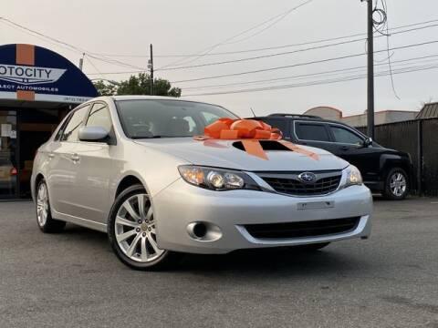 2008 Subaru Impreza for sale at OTOCITY in Totowa NJ
