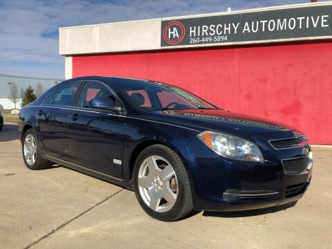 2010 Chevrolet Malibu for sale at Hirschy Automotive in Fort Wayne IN