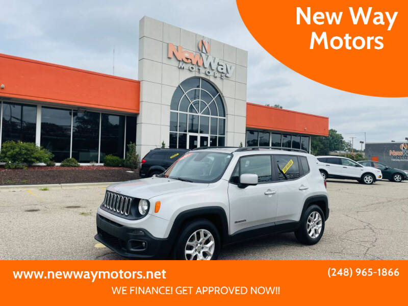 2016 Jeep Renegade for sale at New Way Motors in Ferndale MI