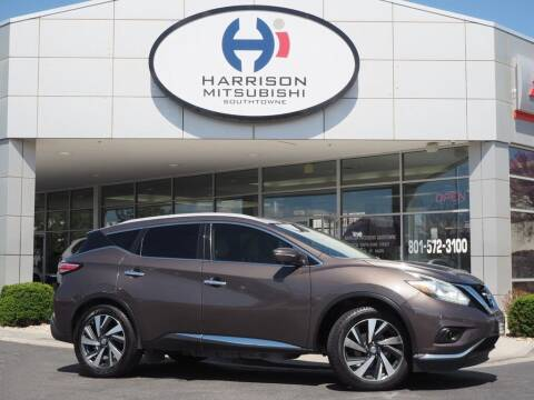 2015 Nissan Murano for sale at Harrison Imports in Sandy UT