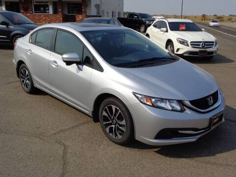 2015 Honda Civic for sale at John's Auto Mart in Kennewick WA