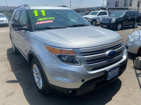 2011 Ford Explorer for sale at CAR GENERATION CENTER, INC. in Los Angeles CA