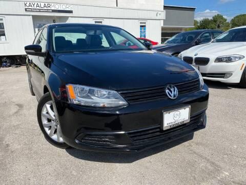 2012 Volkswagen Jetta for sale at KAYALAR MOTORS in Houston TX