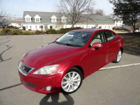 2009 Lexus IS 250 for sale at TJ Auto Sales LLC in Fredericksburg VA