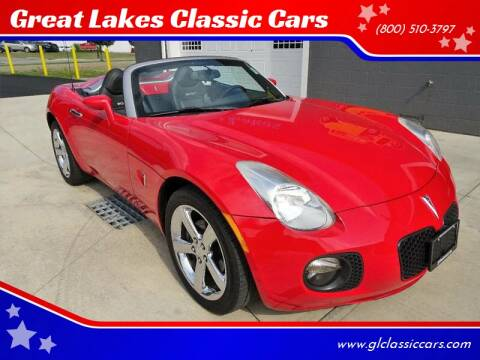 2008 Pontiac Solstice for sale at Great Lakes Classic Cars & Detail Shop in Hilton NY