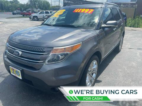 2011 Ford Explorer for sale at Excel Auto Sales LLC in Kawkawlin MI
