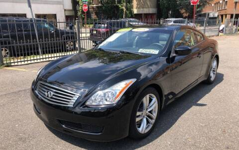 2008 Infiniti G37 for sale at DEALS ON WHEELS in Newark NJ