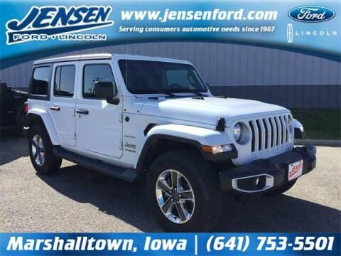 2020 Jeep Wrangler Unlimited for sale at JENSEN FORD LINCOLN MERCURY in Marshalltown IA