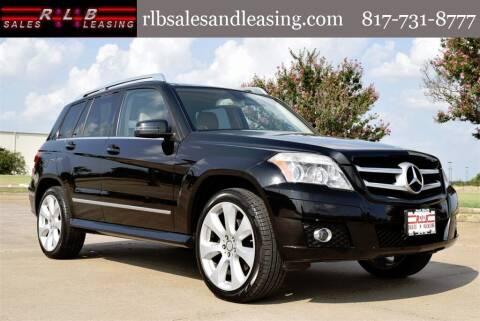 2010 Mercedes-Benz GLK for sale at RLB Sales and Leasing in Fort Worth TX