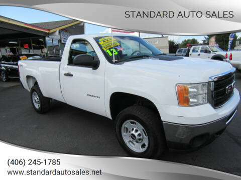 2013 GMC Sierra 2500HD for sale at Standard Auto Sales in Billings MT