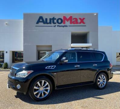 2014 Infiniti QX80 for sale at AutoMax of Memphis in Memphis TN