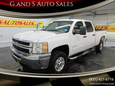 2011 Chevrolet Silverado 2500HD for sale at G and S Auto Sales in Ardmore TN