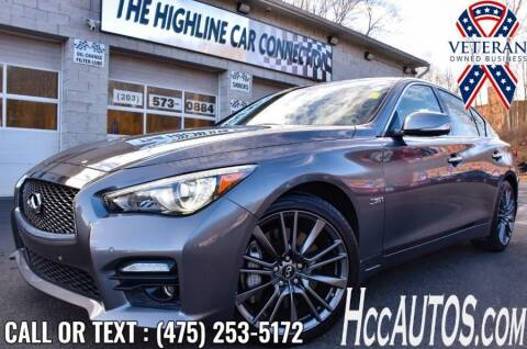 2016 Infiniti Q50 for sale at The Highline Car Connection in Waterbury CT