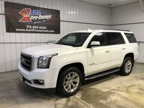 2017 GMC Yukon for sale at Karl Pre-Owned in Glidden IA