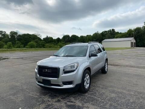 2014 GMC Acadia for sale at Caruzin Motors in Flint MI