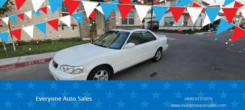1996 Acura TL for sale at Everyone Auto Sales in Santa Clara CA