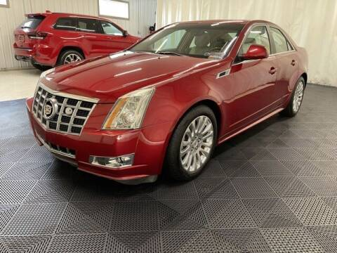 2012 Cadillac CTS for sale at Monster Motors in Michigan Center MI