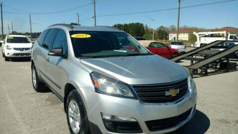 2014 Chevrolet Traverse for sale at Kelly & Kelly Supermarket of Cars in Fayetteville NC