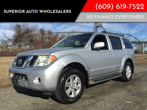 2008 Nissan Pathfinder for sale at Superior Auto Wholesalers in Burlington City NJ