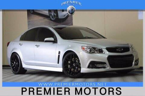 2015 Chevrolet SS for sale at Premier Motors in Hayward CA