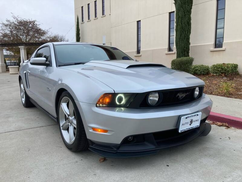 2012 Ford Mustang for sale at Auto King in Roseville CA