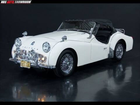 1962 Triumph TR3 B Roadster RWD for sale at NBS Auto Showroom in Milpitas CA