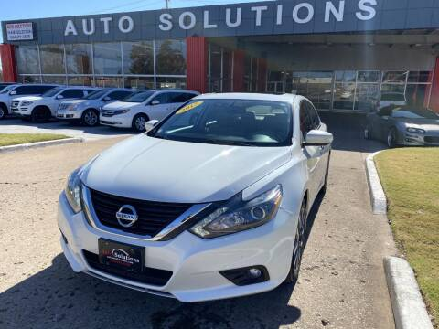 2017 Nissan Altima for sale at Auto Solutions in Warr Acres OK