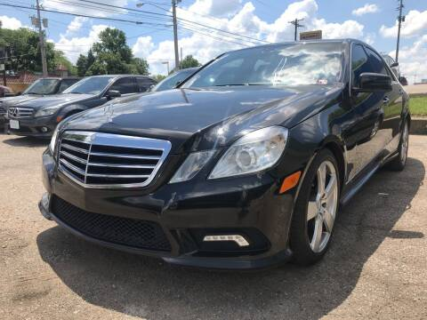 2011 Mercedes-Benz E-Class for sale at GREENLIGHT AUTO SALES in Akron OH