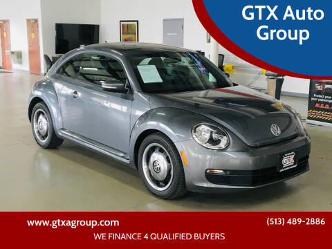 2012 Volkswagen Beetle for sale at GTX Auto Group in West Chester OH