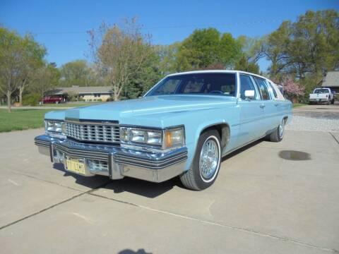 1977 Cadillac Fleetwood for sale at D & P Sales LLC in Wichita KS